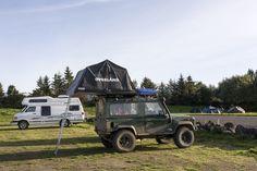 Campers at Reykjavik Campsite