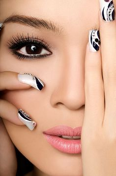 makeup and nails | Fashion Buster: December 2011
