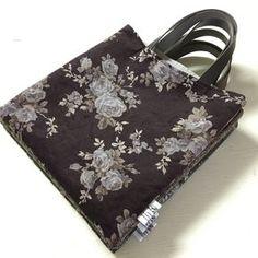 先日作ったペタンコバッグですが、気に入ったので名前をつけました。 バッグ口がレシートスタンドのようにカットされ…