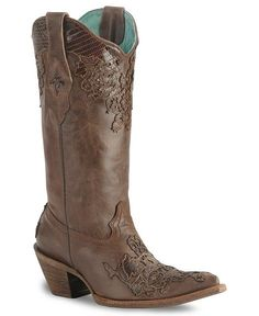 Lizard Cut Out by Corral ((Sheplers)) Country Girl Style, My Style, Boot City, Corral Boots, Cute Boots, Cowgirl Boots, Sexy Cowgirl, Sock Shoes, Western Wear