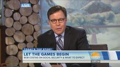 Bob Costas has developed an eye infection while reporting for the Olympics in Sochi... obviously the Internet responded appropriately.