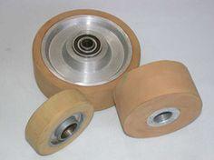 ruedas Tapas, Industrial, Natural Rubber, Bronze, Wheels, Industrial Music