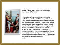 orações santa zita
