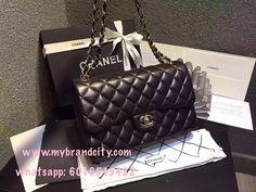 Ahhh essa bolsa - Chanel classic lambskin medium