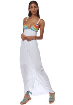Mara Hoffman   Prismatic Dress   Beach Café UK