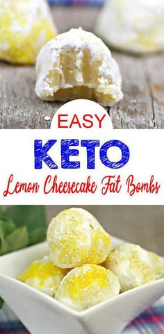 EASY keto lemon fat bombs! BEST keto lemon fat bombs that are simple & tasty. Great low carb dessert - keto snacks (grab & go or make ahead). Also, great keto lemon desserts. Keto fat bombs cream cheese & lemon recipes. Keto lemon cheesecake fat bombs for a ketogenic diet. Lemon coconut fat bombs keto friendly everyone loves. #ketodesserts #keto Gluten free, sugar free fat bombs. Click for the secret ingredient :)