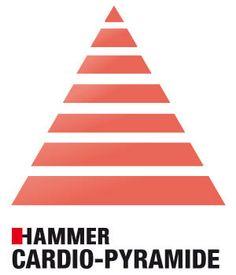 Unser Sommer-Workout: Die Cardio-Pyramide.  Einen gratis Workoutplan und wichtige Infos zu diesem effektiven und spaßigen Training bekommst du hier #cardio #ausdauer #ausdauertraining #cardiotraining #fitness #workout #training #fatburner #hammer #hammersport #finnlo