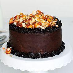 Macadamia-Schokoladen-Torte mit Salzkaramell (Philipp??)