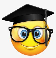 All Graphics - Konfest Graduation Cap Images, Graduation Stickers, Shocked Emoji, Funny Emoticons, Smileys, Image Transparent, Dibujos Baby Shower, Picture Borders, Moon Emoji