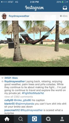 Hip Hop + Lifestyle : NEWS: Not So Fast Floyd Mayweather Shuts Down Mann...