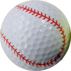 Chromax Novelty Golf Balls Bulk--Baseball