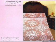 手钩床罩:3、优雅的面纱 - maomao - 我随心动