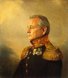 I might need a Bill Murray art print for my office wall.
