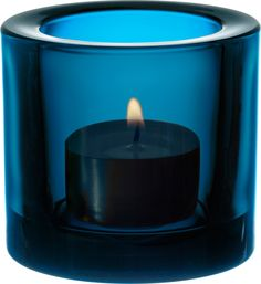 We have these EVERYWHERE at The Crowd Cafe, right on the beach - Barcelona Iittala - Kivi Votive 60 mm turquoise - Iittala.com