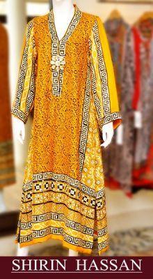 Shirin Hassan Cute Summer Dresses 2015 For Girls