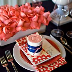 High Street Market: Coral Pink and Navy Wedding! Beautiful coral and navy tablescape Wedding Decorations, Table Decorations, Wedding Ideas, Wedding Tables, Centerpieces, Rehearsal Dinner Themes, Entertainment Table, Wedding Colors, Wedding Coral