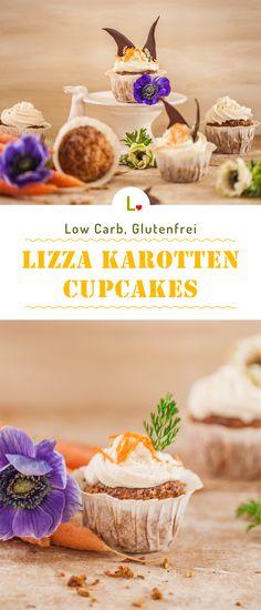 Außen knusprig. Innen saftig. Oben cremig. Das sind die glutenfreie Lizza Karotten Cupcakes! Der Low Carb Teig aus geraspelten Möhren, gemahlenen Mandeln und Lizza Gold-Leinsamenmehl verwandelt die Muffins in leckere Desserts und Snacks.Ihr habt noch nicht genug und wollt ähnliche Rezepte? Dann schnuppert mal auf unsere Seite: https://lizza.de/pages/rezepte ;)