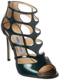 Jimmy Choo Ren 100 Patent Sandal.