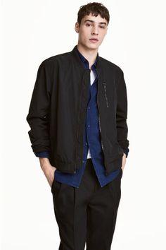 Nylon-blend bomber jacket | H&M