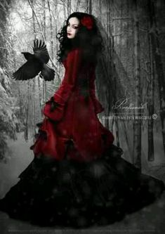 Quoth the Raven.... #gothic #fashion #images