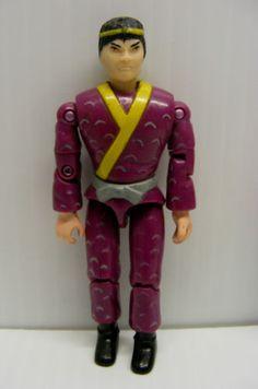 vintage-The-Corps-action-figure-purple-martial-art-DRAGON-HAN-NINJA-lanard-1986