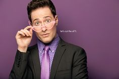 Randy Rainbow is a comedian best known for his viral comedy videos. Jewish Comedians, Hms Pinafore, Henny Youngman, Laughed Until We Cried, Stephen Foster, Mary Louise Parker, Parody Videos, Youtube Sensation, Making Youtube Videos