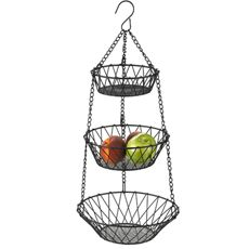 Use a 3 tier baskets to hold/dry small items while camping. I hang mine in a tree by the camp table to hold dish sponges, soaps, hot pads, etc. I got the idea when I saw a camp with one on a small yard hook. It held fruit and snacks....and a pair of drying socks :)