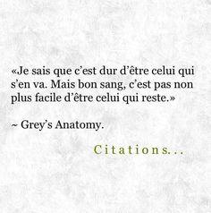 Citation Grey S Anatomy Sur Pinterest