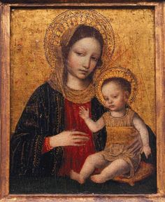 Madonna and Child - 1490's -   Ambrogio Borgognone