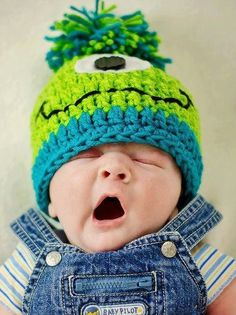 erkek bebek örgü bere