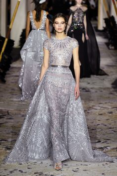 See all the looks from Zuhair Murad's Couture Spring 2018 collection.
