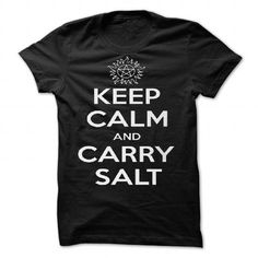 Keep Calm and Carry Salt by lonelyrainbows - #gift for him #gift card. SECURE CHECKOUT => https://www.sunfrog.com/Valentines/Keep-Calm-and-Carry-Salt-by-lonelyrainbows-87099184-Guys.html?68278