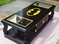 Great idea for the Batman lovers man cave.