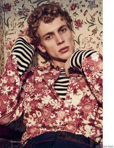 Robi G. para Vogue Hommes Spring/Summer 2016 por Sharif Hamza