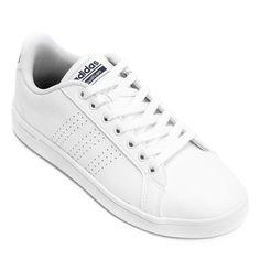 d50aeedb93 Tênis Adidas Cf Advantage Clean Masculino - Preto - Compre Agora
