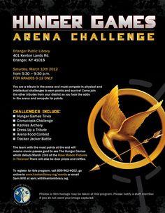 Hunger Games Arena Challenge