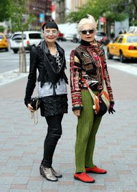 ADVANCED STYLE: Ladies Do Lunch