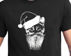 Christmas Sweater  Cat lover Santa Claws Meowy Christmas, Ugly Sweater, Christmas Gift,ugly , Christmas t shirt, crazy cat lady