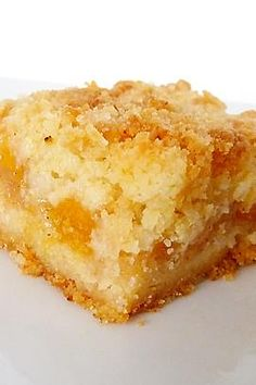 Peach Crumb Bars recipe with 430 calories.