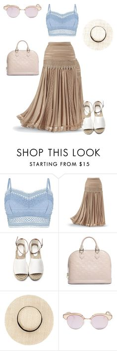 """""""Untitled #570"""" by martinmel-mlm ❤ liked on Polyvore featuring Lipsy, Louis Vuitton and Le Specs"""