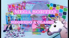 MEGA SORTEO INTERNACIONAL REGRESO A CLASES   SORTEO 2017   (ABIERTO) - YouTube