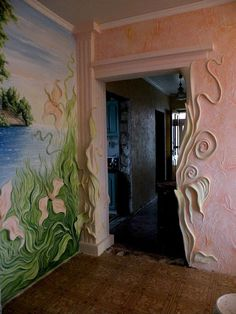 Stunning art ideas in decorating the walls .... see more of this beautiful art on the site.