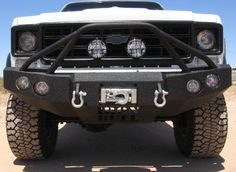 Iron Bull Front Winch Bumper for 1973-80 Chevy/GMC C10/C20 Truck
