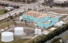 Cooling towers at Big Blue power plant will be first to go