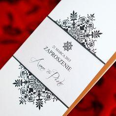 Zaproszenia na każdą okazję: Perłowa Elegancja - Zaproszenia Ślubne