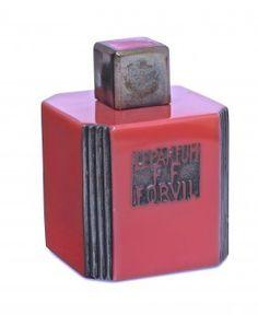 1927 Baccarat, Forvil Le Parfum Ff Perfume Bottle