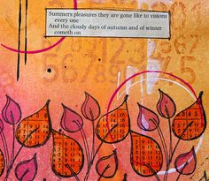 kate crane artist | found on thekathrynwheel blogspot com.....Dyan Reavely Stamps (Dylusions by Ranger)