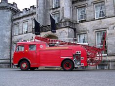 Fire Engine Appliances -Scottish Fire and Rescue YHS 151H Dennis F108 Heritage Trust Appliance – Museum & Heritage Centre Greenock