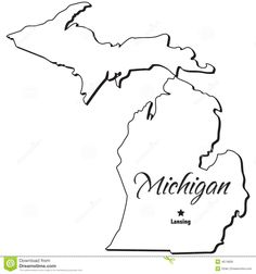 291 best michigan images in 2019 michigan go blue university of Riley Trails Holland MI outline of michigan michigan state map map outline maps outlines