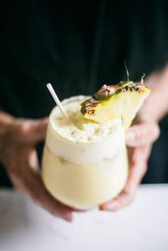 Recipe to try this weekend: Ginger Pina Colada